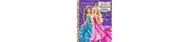Princess Charm School (Barbie) (Little Golden Book) (Hardcover)