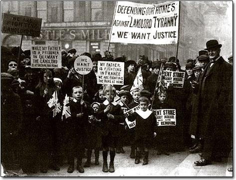 Rent Strike, Glasgow 1915 - Red Clydeside.