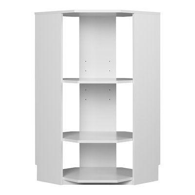 Ameriwood System Build Half Corner H 3 Shelf Shelving Unit