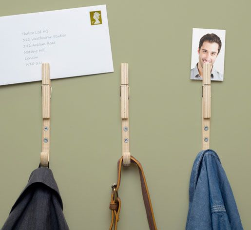 Jpegs   Designer coat hooks with handy pegs by Thabto