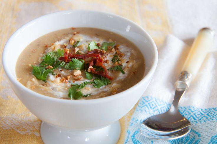 Fava Bean and Almond Soup - A Blue Zone recipe