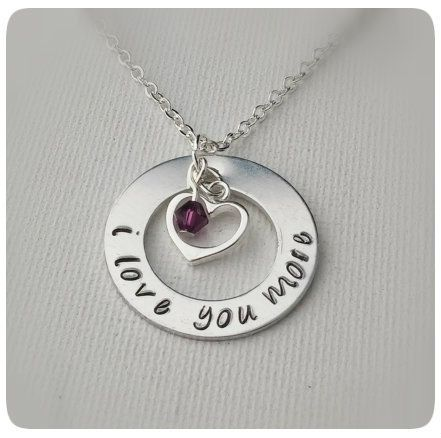 1000 images about i love you more necklace on pinterest
