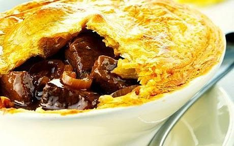 Pigeon Pie - both wartime and Medieval recipes.
