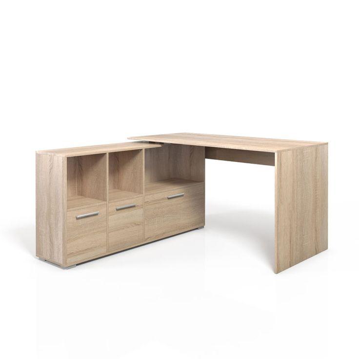 M s de 25 ideas incre bles sobre escritorio esquinero en for Escritorios rusticos para oficina