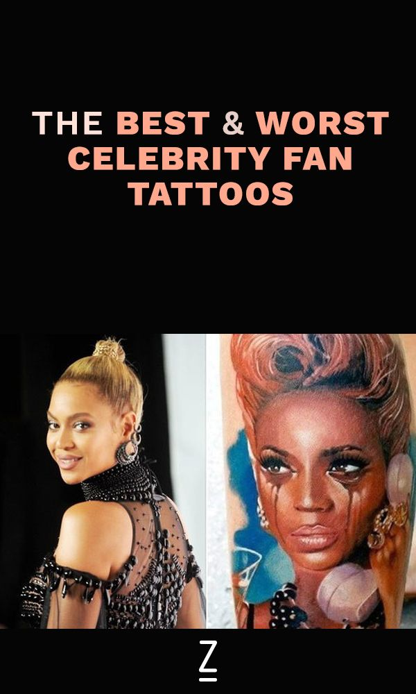The Best and Worst Celebrity Fan Tattoos
