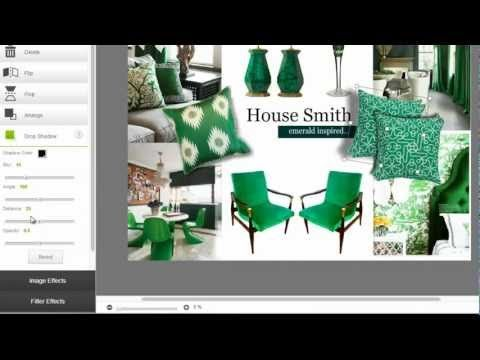 8 best images about how to create mood board on pinterest for Interior design mood board creator