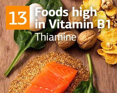 What is Vitamin B1 and Top 13 Foods Richest with Vitamin B1 (Thiamine). And other Vitamin rich foods Lists