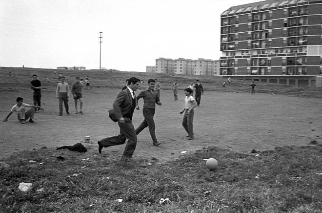 The way we were - Federico Garolla, Pier Paolo Pasolini in the suburban neighbourhood of Centocelle, Rome, 1960