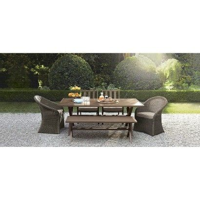 I Love This Patio Set From Target Threshold Holden 6