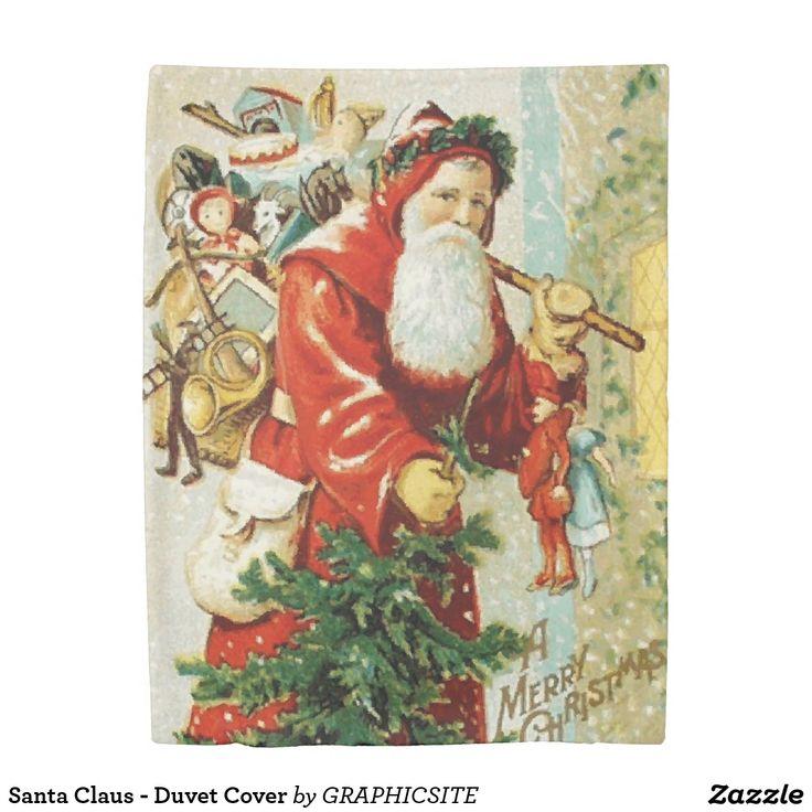 Santa Claus - Duvet Cover