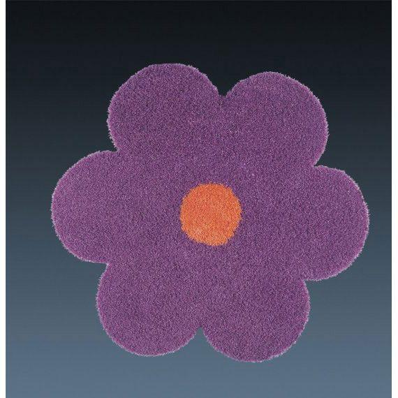 Ковер фиолетовый цветок Daisy #carpet #carpets #rugs #rug #interior #designer #ковер #ковры #дизайн  #marqis