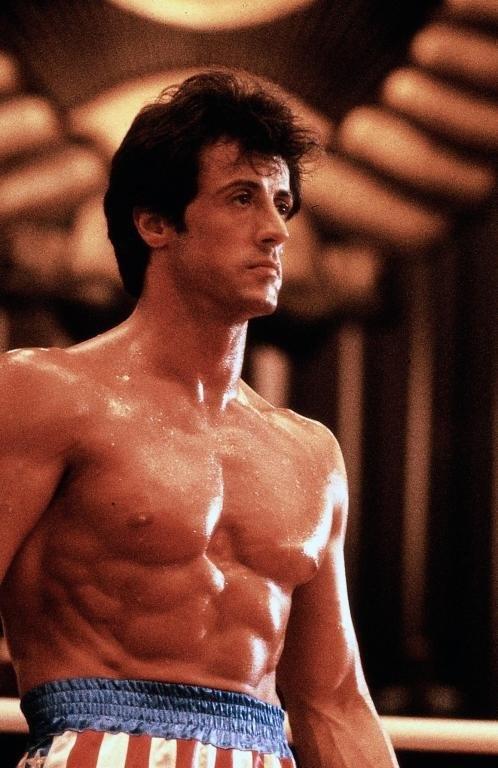 Rocky Balboa - Sylvester Stallone..my crush