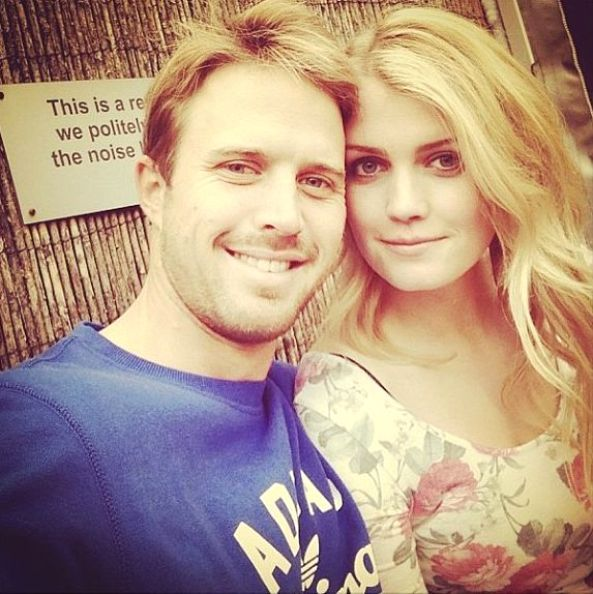 Lady Kitty Spencer and Nick Compton