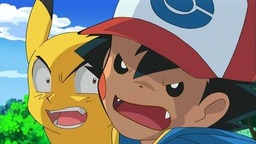 oh my gawd I dont even watch pokemon that much but still. anime face swaps - Google Search
