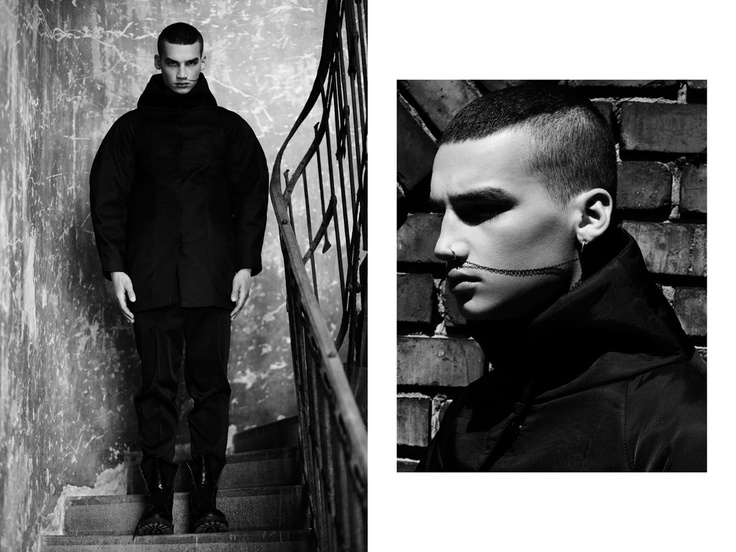 HE - Zsólyomi for HeStyle editorial (www.hestyle.blog.hu) Model: Misa Patinszki (Wam Models), Photo: Zsólyomi Norbert