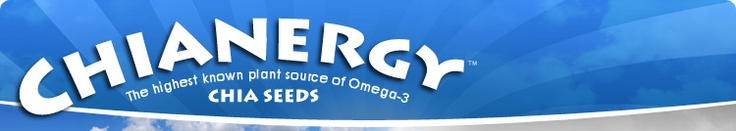 Chianergy Chia Seeds - Nutritional information _ I will never get tired of promoting the health benefits of Chia seeds!!