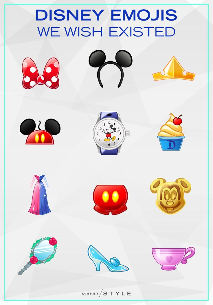 Disney emojis we wish existed to up our texting game | [ https://style.disney.com/living/2016/06/11/disney-emojis-we-wish-existed/ ]