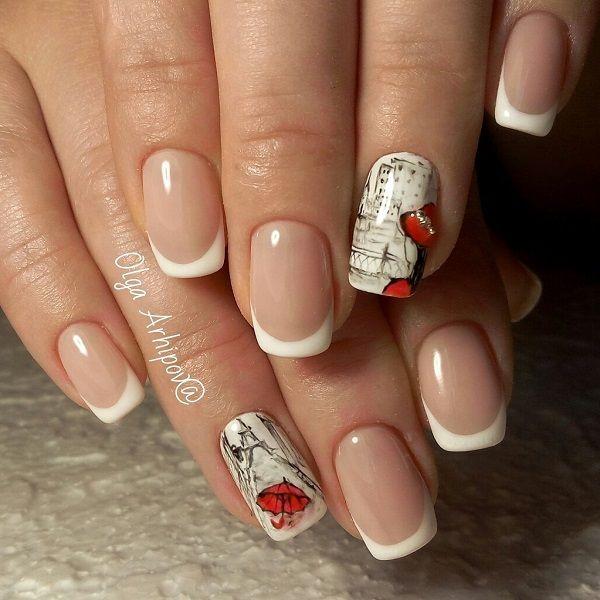 Creative Nail Design Paris: Creative black and white nail art design ...