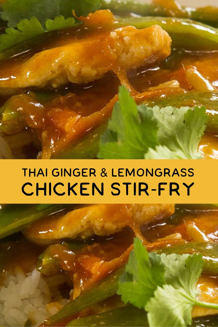 139 best thai food images on pinterest thai recipes cooking food video recipe thai ginger lemongrass chicken stir fry from recipe30 forumfinder Gallery