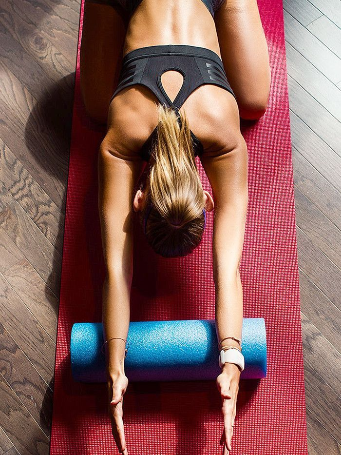 How to Use a Foam Roller to Completely Transform Your Body (and Posture) via @ByrdieBeauty
