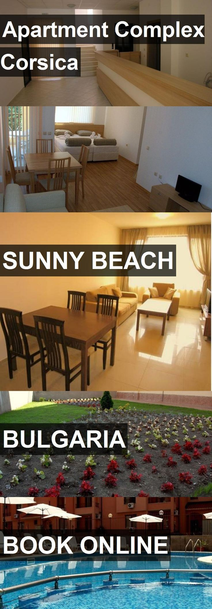 Apartment Complex Corsica in Sunny Beach, Bulgaria. For more information, photos, reviews and best prices please follow the link. #Bulgaria #SunnyBeach #travel #vacation #apartment