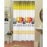 Found it at Wayfair.co.uk - Labels Funky Shower Curtain