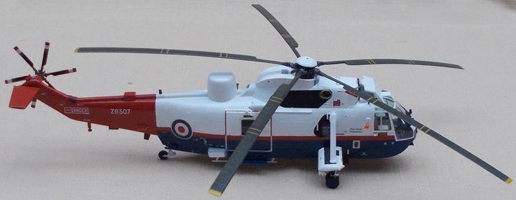 1/72 Revell Sea King Mk.4X - RAE Farnborough 1986 by andyf117
