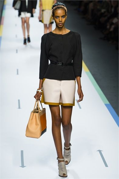 Fendi - Spring Summer 2013 Ready-To-Wear - Shows - Vogue.it