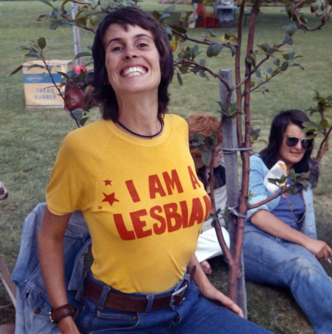 Anonymous. 'I am a Lesbian, Gay Pride Week' Adelaide, 1973