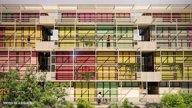 Galería de Ganadores del Concurso FIVS 2015: Rehabilitación intraurbana hacia la vivienda asequible / México - 22