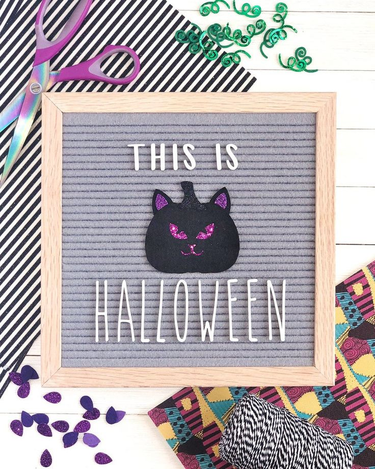 JackoLantern Letter Board Accessories and Icons Etsy