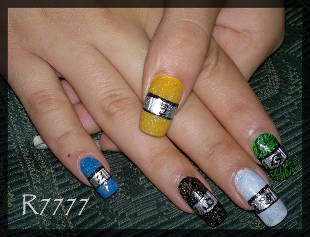 18 best Naruto nails images on Pinterest | Naruto nails, Anime nails ...