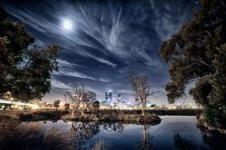 FEA-0007261 © WestPix Millers pond showcasing Perth in the background. Picture: Shaun Fearn