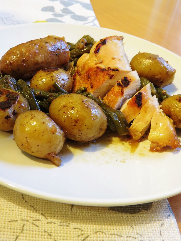 One Pot Meal - Chicken, Sausage and Potato Dinner