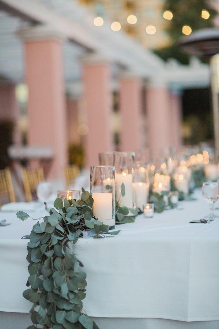 Featured Photographer:Vitalic Photo; wedding centerpiece idea