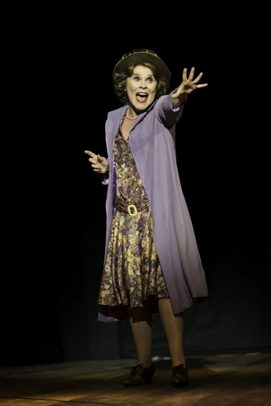 "Imelda Staunton (Momma Rose) in GYPSY at the Savoy Theatre, London 2015. ♡ ★★★★★ ""A near-perfect musical"" (Arts Desk): www.LOVEtheatre.com/news/100643/Five-star-reviews-for-Imelda-Staunton-in-Gypsy?sid=PIN"