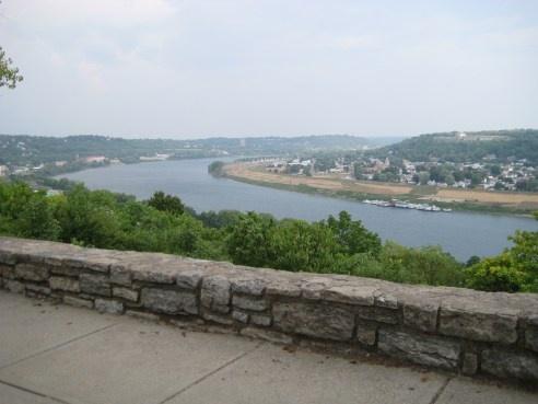Eden Park in Cincinnati. Daddys bend in the river.......