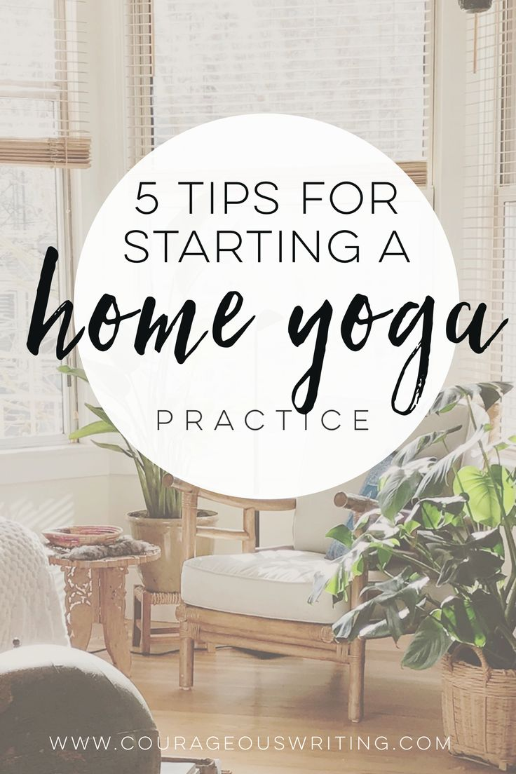 Use this guide to start a home yoga practice today. Whether you're a beginner or experienced yogi, there's something for you!