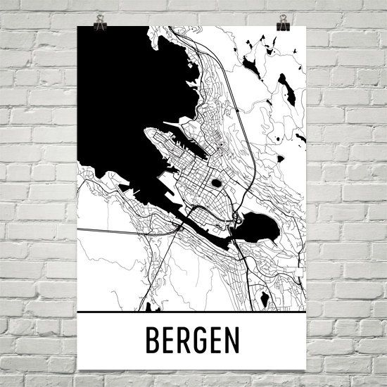 Best M A P S Images On Pinterest Map Art City Maps And City - Norway map poster