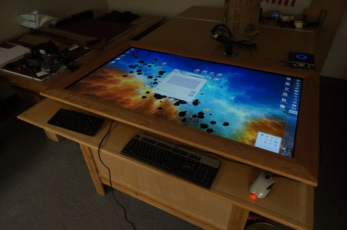 Best computer chair - Touch Display Insert For A Geek Chic Vizier Gaming Table By Joseph Han