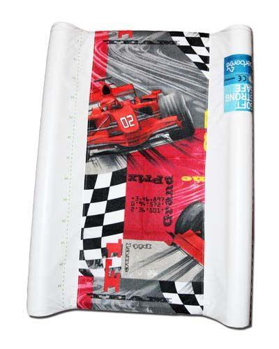 pokrowiec bawełniany uniwersalnyz gumką na przewijak - Formula1/changing mat cover