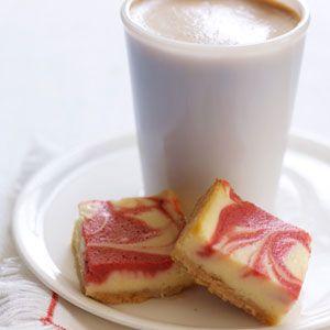 Tart Cherry Cheesecake Bars - Delish.com