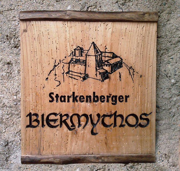 Starkenberger BIERMYTHOS Incisione su rovere