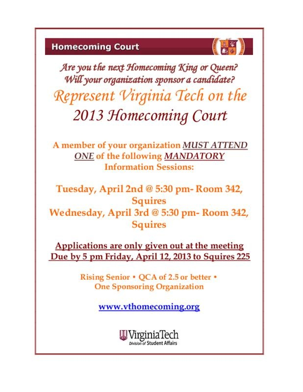 Flyer for Court Info Sessions king
