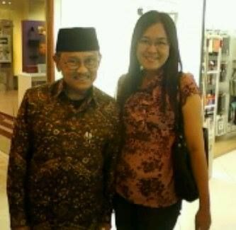 He's the inventor 46 Patens of Aerodynamic and the Third President of Indonesia,  BJ Habibie