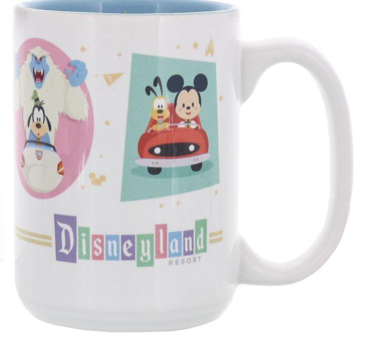 Disney Disneyland Fab Five Cute Characters by Jerrod Maruyama 12 oz Mug New