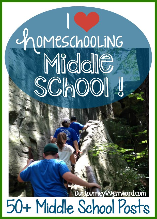 Homeschooling the middle school years are full of amazing opportunities for learning!