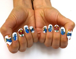 corningware fingernail pattern | Tumblr: Fashion, Nails Art, Good Ideas, Nailart, Beautiful, Fingernail Patterns, Fans Art, Sweet Home, Birds