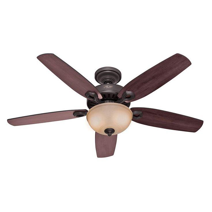 Hunter Builder Deluxe 52 in. Indoor Ceiling Fan with Light - 530