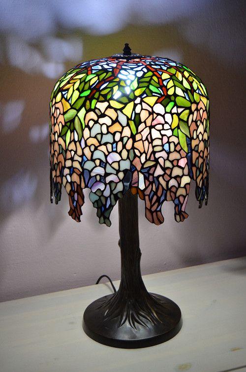 Tiffany lampa Wisteria  a0bc3cc9f40